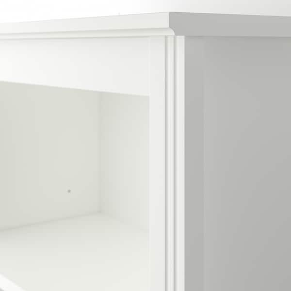 BRUSALI High cabinet with door, white, 80x190 cm
