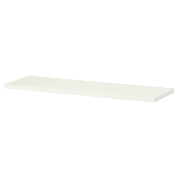 BURHULT Shelf, white, 59x20 cm