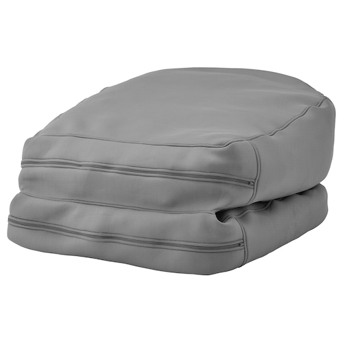 BUSSAN beanbag, in/outdoor grey 94 cm 187 cm 67 cm 20 cm 70 cm 2670 g 4500 g