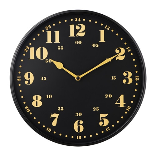 Dassigt wall clock ikea for Orologio parete ikea