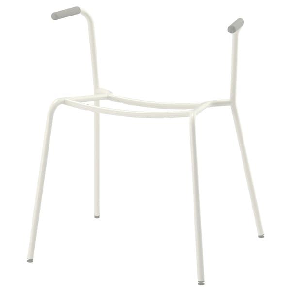 DIETMAR underframe for chair with armrests white 110 kg 53 cm 50 cm 65 cm 46 cm