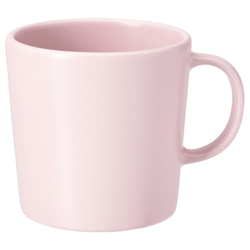 DINERA Mug, light pink, 30 cl