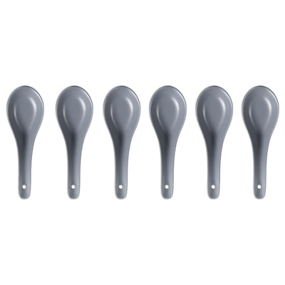 DINERA Spoon, grey-blue