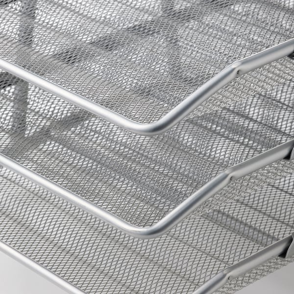 DOKUMENT Letter tray, silver-colour