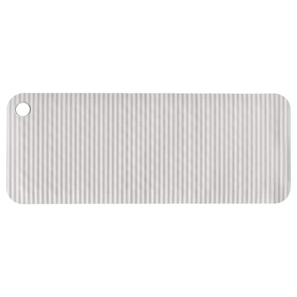DOPPA bathtub mat light grey 84 cm 33 cm