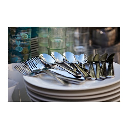 DRAGON 24-piece cutlery set IKEA