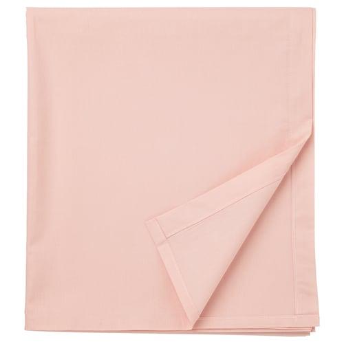 DVALA sheet light pink 152 /inch² 260 cm 240 cm