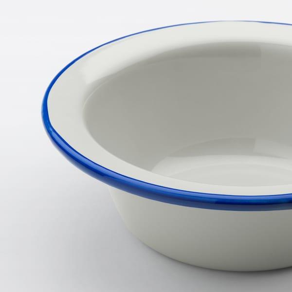 EGENDOM bowl light grey/dark blue 6 cm 17 cm