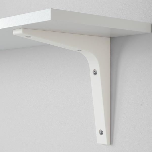 EKBY STÖDIS bracket white 2.5 cm 18 cm 18 cm