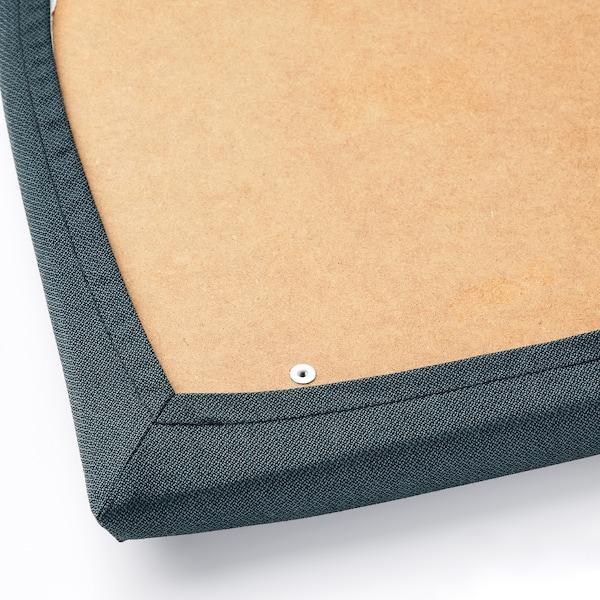 EKEDALEN Chair, brown/Idekulla blue