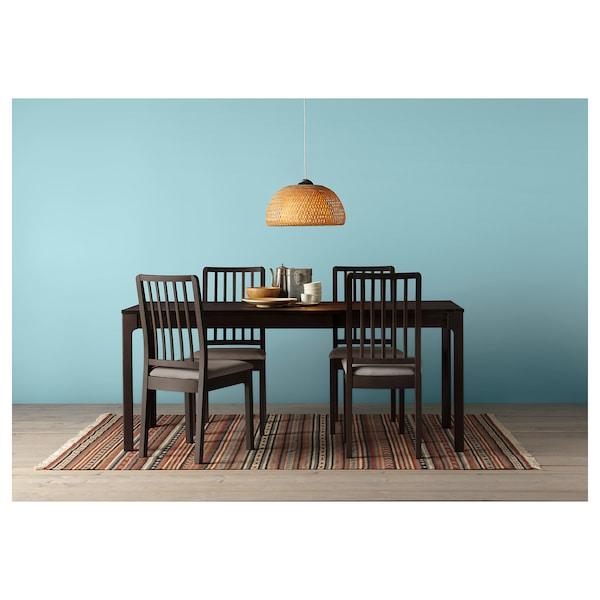 EKEDALEN chair dark brown/Orrsta light grey 110 kg 45 cm 51 cm 95 cm 45 cm 39 cm 48 cm