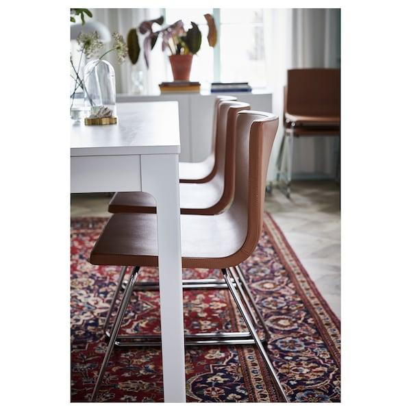 EKEDALEN extendable table white 180 cm 240 cm 90 cm 75 cm