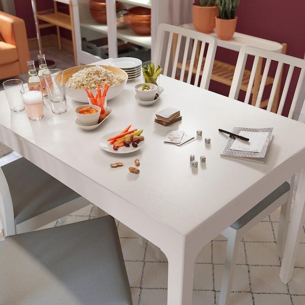 EKEDALEN extendable table white 120 cm 180 cm 80 cm 75 cm
