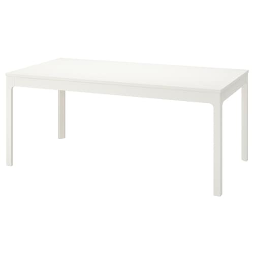 EKEDALEN extendable table white 180 cm 240 cm 90 cm 75 cm