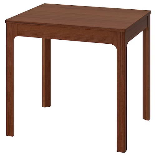 EKEDALEN extendable table brown 80 cm 120 cm 70 cm 75 cm