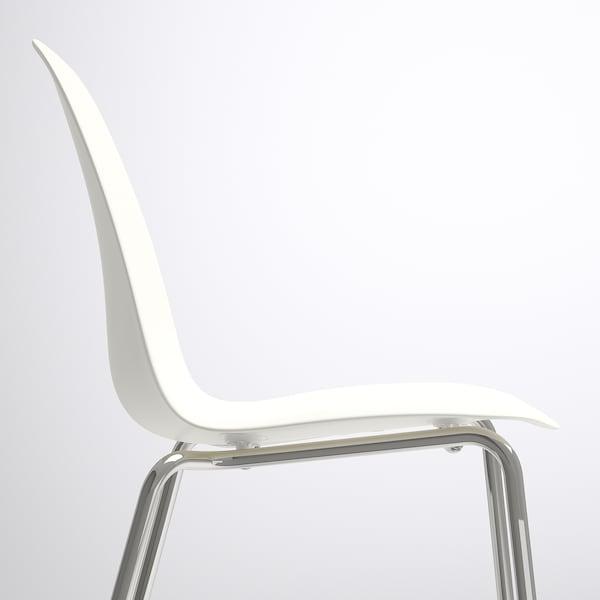 EKEDALEN / LEIFARNE table and 2 chairs oak/white 80 cm 120 cm