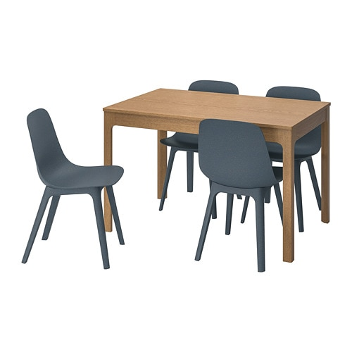 EKEDALEN / ODGER Table and 4 chairs