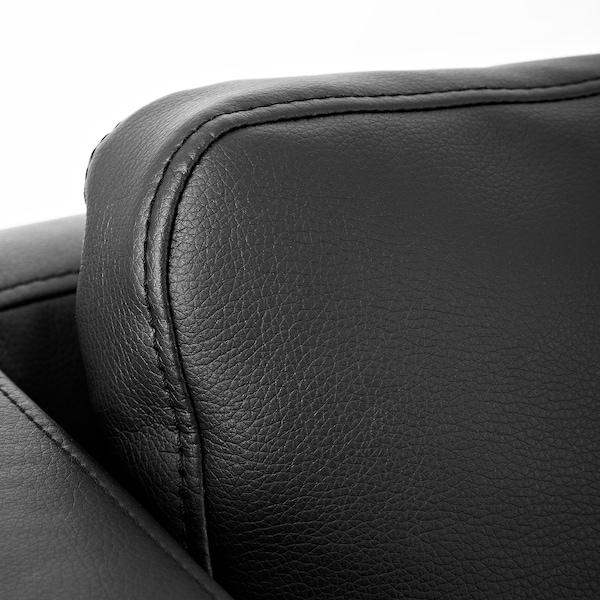 EKERÖ armchair Kimstad black 70 cm 73 cm 75 cm 57 cm 46 cm 43 cm