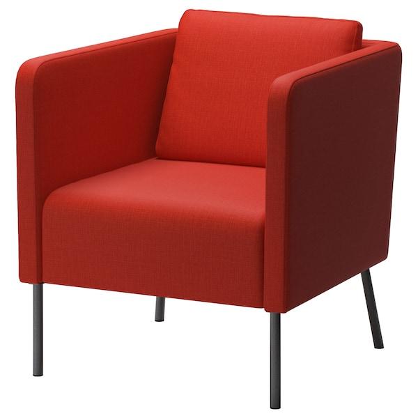 EKERÖ armchair Skiftebo orange 70 cm 73 cm 75 cm 57 cm 46 cm 43 cm