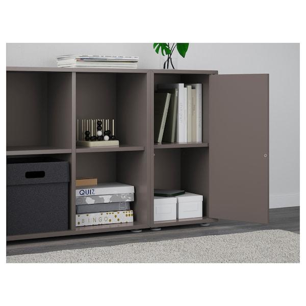 EKET cabinet combination with feet dark grey 70 cm 105 cm 35 cm 72 cm