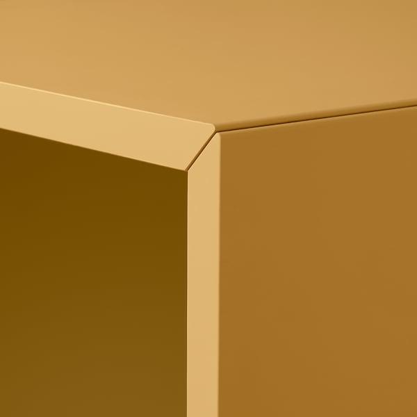 EKET cabinet combination with legs golden-brown 70 cm 140 cm 35 cm 80 cm