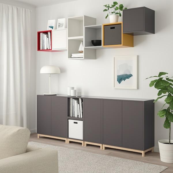 EKET cabinet combination with legs multicolour 1 70 cm 210 cm 35 cm 210 cm