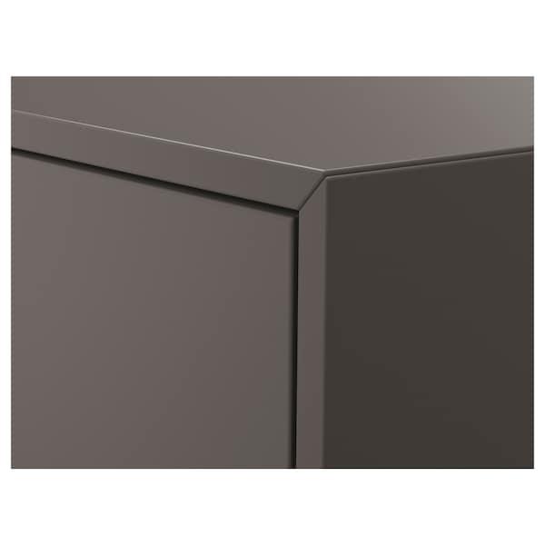EKET cabinet with 2 drawers dark grey 70 cm 35 cm 35 cm 63 cm 28 cm 3 kg