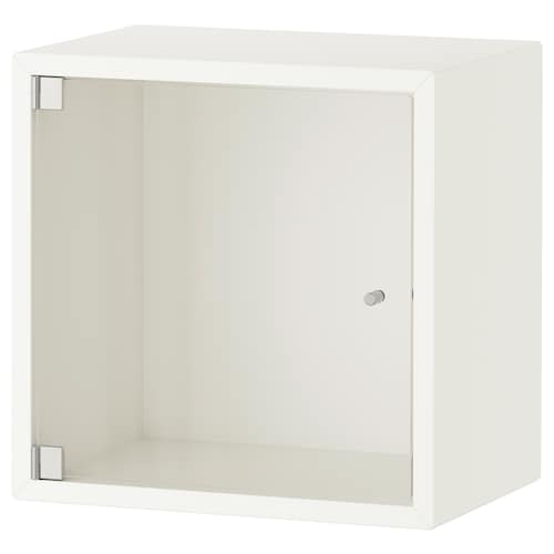 EKET wall cabinet with glass door white 35 cm 25 cm 35 cm