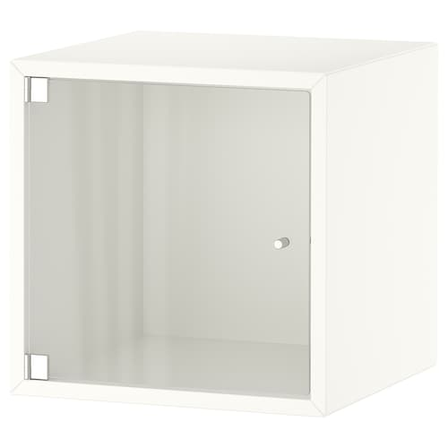 EKET wall cabinet with glass door white 35 cm 35 cm 35 cm