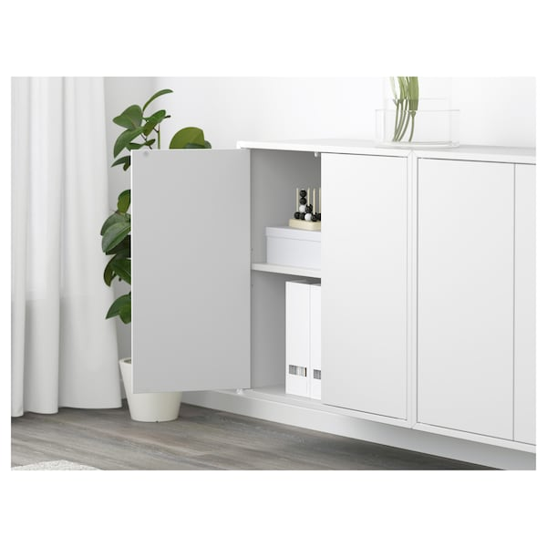 EKET wall-mounted cabinet combination white 70 cm 175 cm 25 cm 70 cm