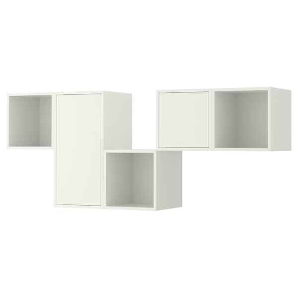 EKET wall-mounted cabinet combination white 175 cm 35 cm 70 cm