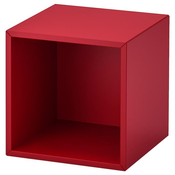 EKET wall-mounted shelving unit red 35 cm 35 cm 35 cm