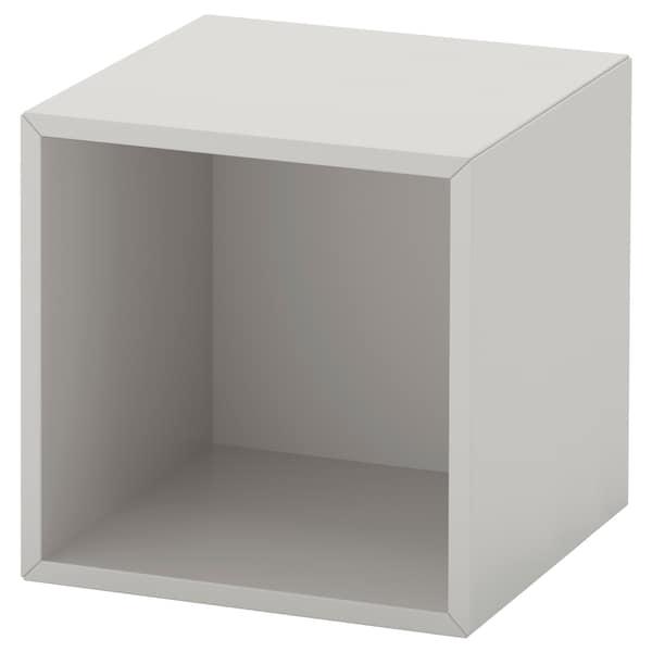 EKET wall-mounted shelving unit light grey 35 cm 35 cm 35 cm
