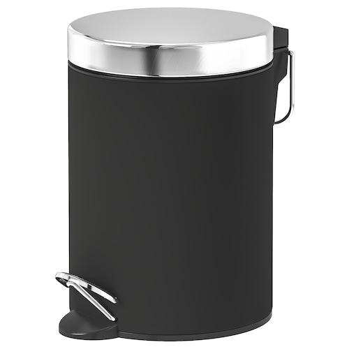 EKOLN waste bin dark grey 24 cm 17 cm 3 l