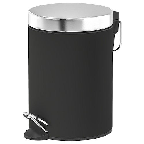 EKOLN waste bin dark grey 24 cm 17 cm 3 l