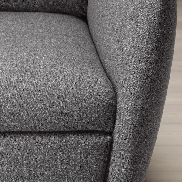 EKOLSUND Recliner, Gunnared dark grey