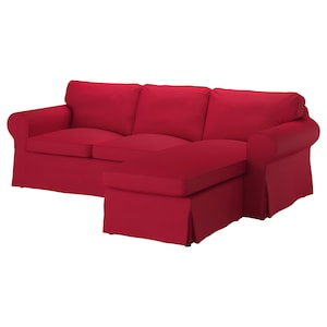 Cover: With chaise longue/nordvalla red.