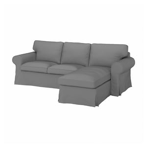 Cover: With chaise longue/remmarn light grey.