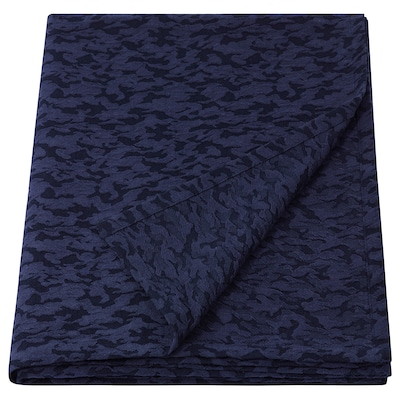 ELSEBY Throw, blue, 130x170 cm