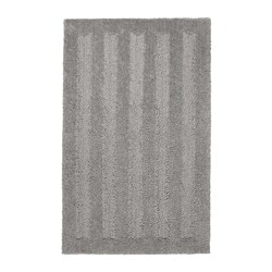 EMTEN bath mat, grey