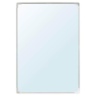ENUDDEN Mirror, white, 58x40 cm