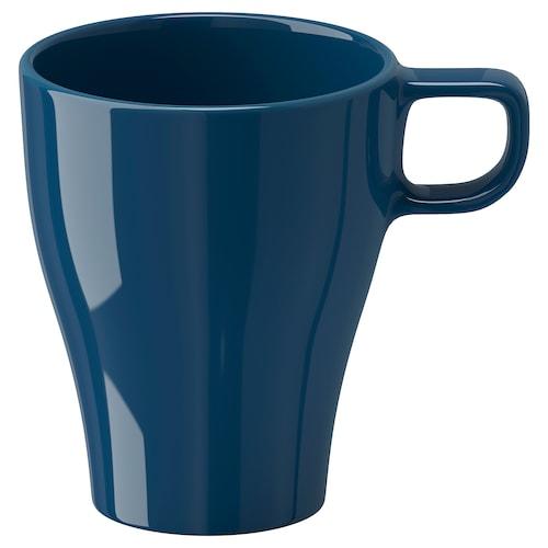 FÄRGRIK mug dark turquoise 11 cm 25 cl