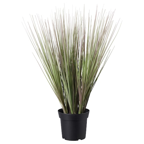 FEJKA artificial potted plant in/outdoor grass 15 cm 60 cm