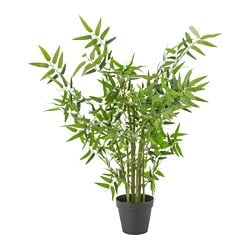 FEJKA artificial potted plant, bamboo