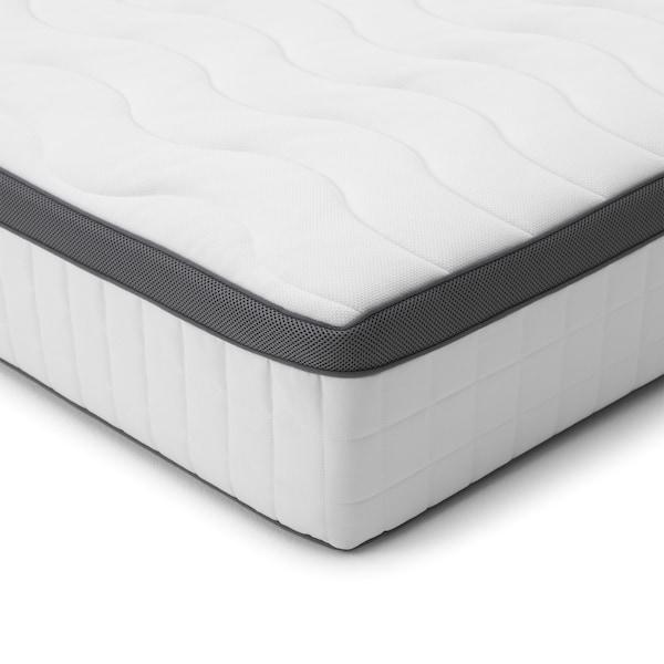 FILLAN pocket sprung mattress firm/white 200 cm 150 cm 26 cm