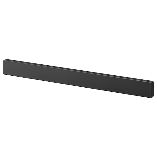 FINTORP magnetic knife rack black 38 cm 3.5 cm