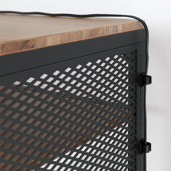 FJÄLLBO laptop table black 100 cm 36 cm 75 cm 15 kg