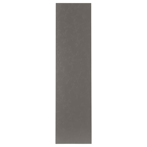 FLORNES door dark grey 49.5 cm 194.6 cm 201.2 cm 2.0 cm