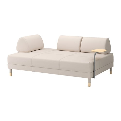 FLOTTEBO Sofa-bed with side table IKEA