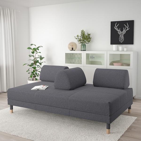 FLOTTEBO sofa-bed Gunnared medium grey 79 cm 200 cm 120 cm 92 cm 46 cm 120 cm 200 cm